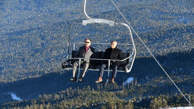 Keltepe Kayak Merkezi'nde Hafta Sonu Üst Günübirlik Tesisi Açılıyor