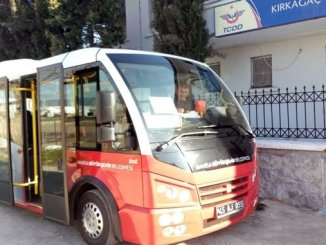 Kirkagac Train Station Bus Services Started