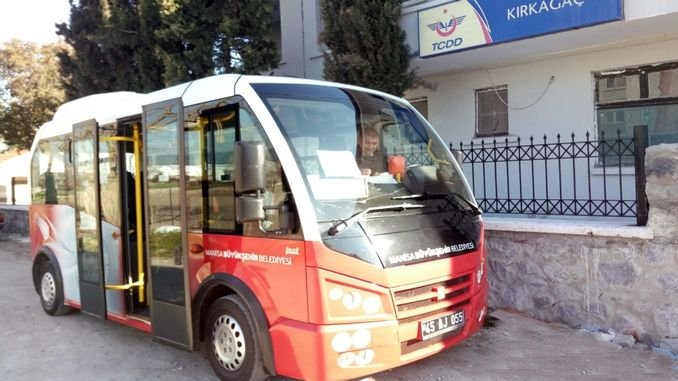 Kirkagac Train Station Bus Services startet