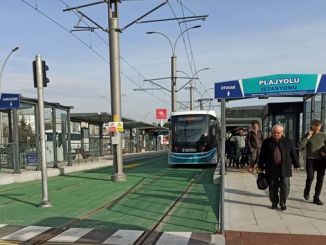 akcaray beachway station served thousand passengers a month