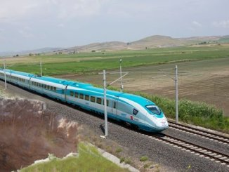 ankara izmir high-speed train project faces the risk of sinkhole