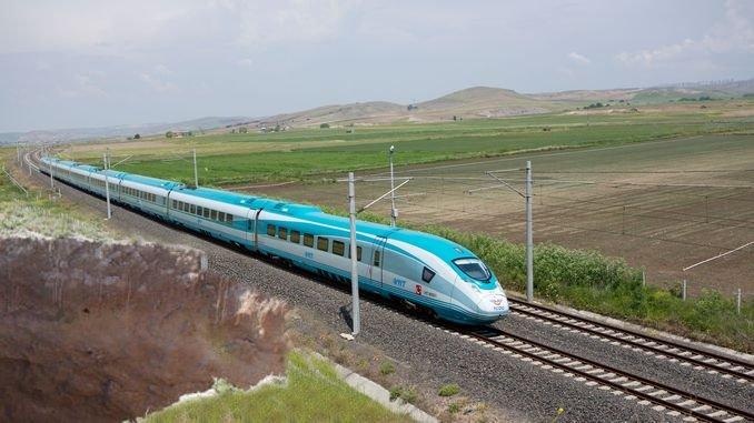 O proxecto de tren de alta velocidade de ankara Izmir afronta o risco de afundir