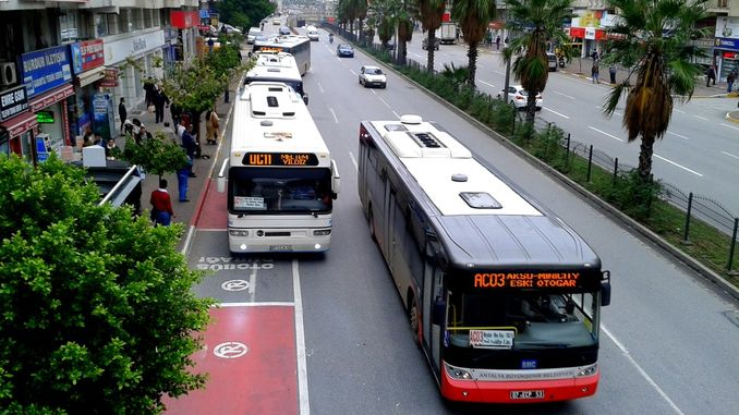 Barriers remain in Antalya public transportation