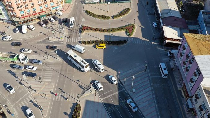 bursa smart intersection applications saved million TL of fuel
