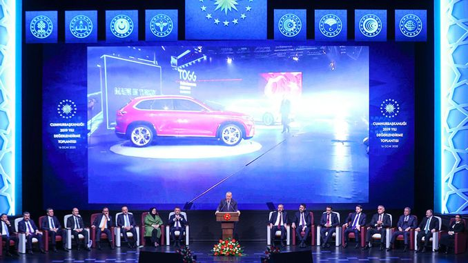 president erdogan domestic car will definitely offer the service of our nation