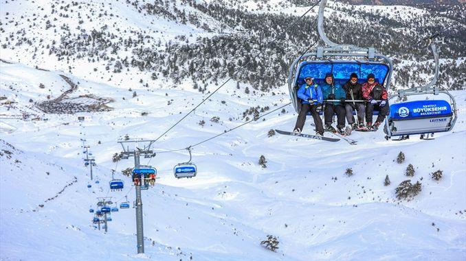 denizli ski resort inorekodha huwandu hwevashanyi