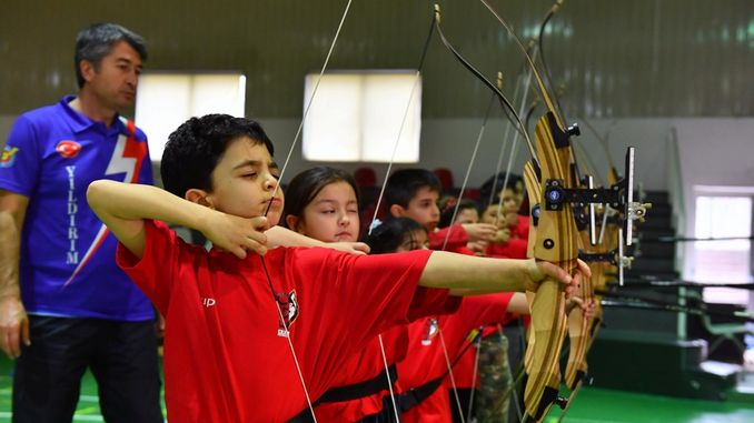 ego sports club students will hit the target from twelve