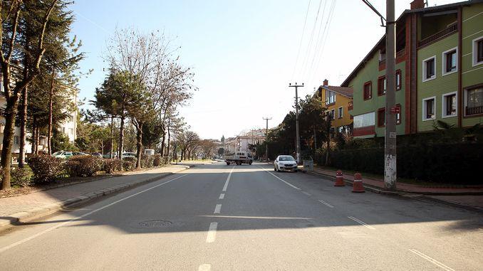 erenler baglar street will be double