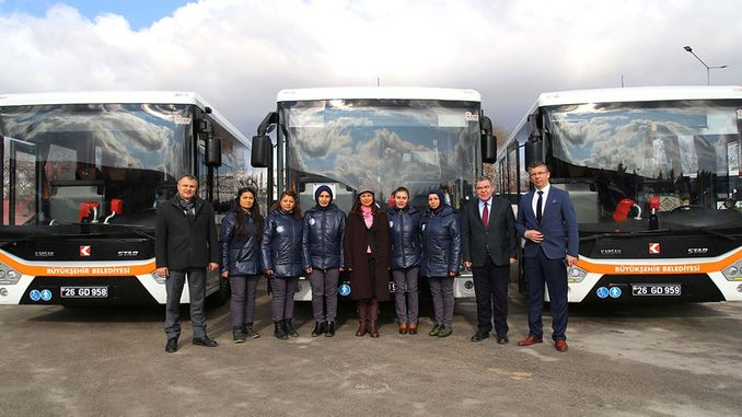 The first women of Eskisehir started to work