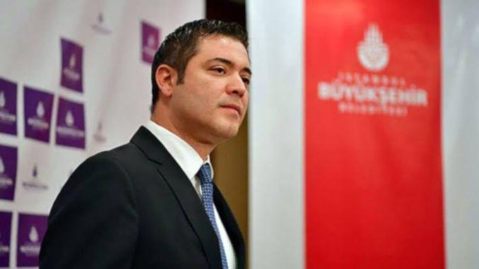 ibb spokesman murat ongun denying the allegation of turhanin metro