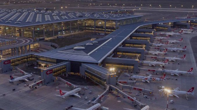 Istanbul airport exceeded its passenger target in the first year of operation