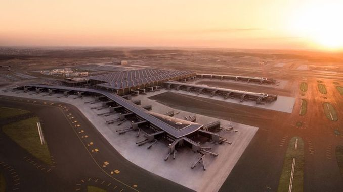 The second phase of the first stage of Istanbul airport will be opened in June