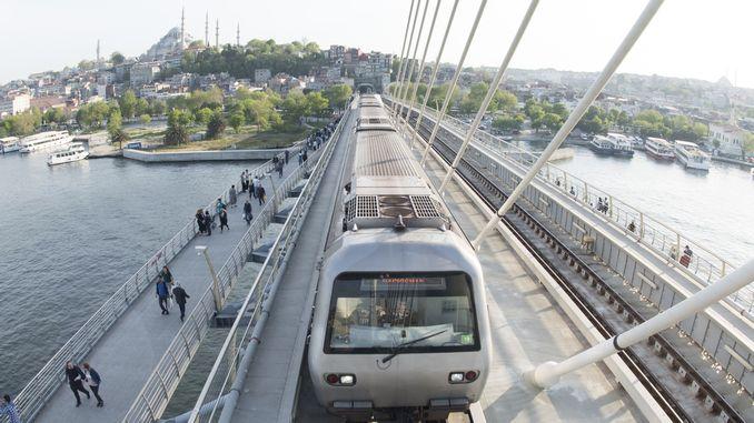 istanbul metro map and metro stops