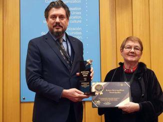 कोन्या सायकल मास्टर प्लॅनी युनेस्कोडन यांना पुरस्कार प्राप्त झाला
