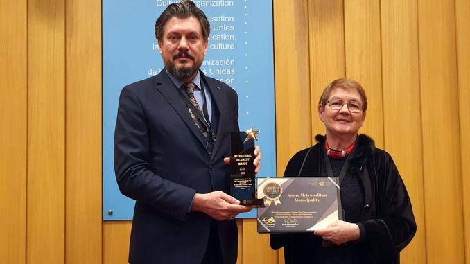 konya bicycle master plani unescodan received awards
