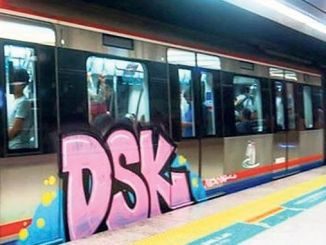 marmaray set o ka graffiti hoʻomaʻemaʻe hopena hopena