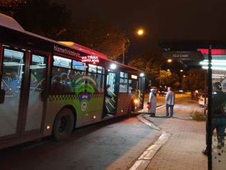 led lighting systems installed at closed bus stops in sakarya