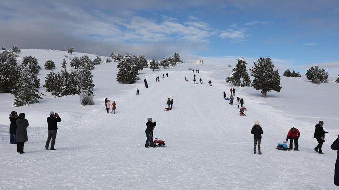 منتجع سالدا للتزلج