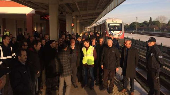 samsun sivas railway line uncertainty continues test train or inspection train