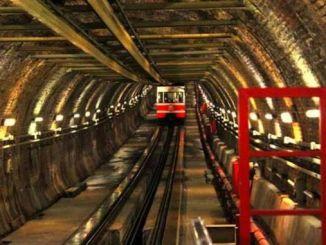 historic karakoy tunnels closed on the stove