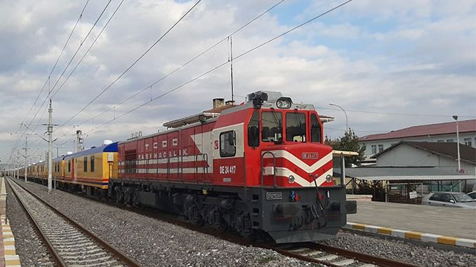 tcddnin wagon accommodation train elazig train garina reached