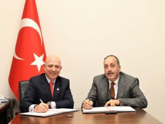 Train of Erasmus students coming to Turkey signed the protocol relating to the trip