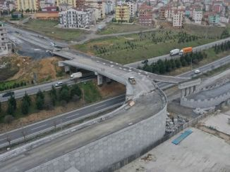 salt and sifa cayirova connection bridge railing work continues
