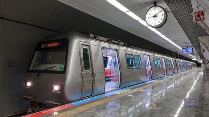 yenikapi haciosman subway will be with wagon on Saturdays