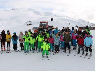 الرياضيون الوطنيون المستقبليون ينموون في منتجع زيجانا للتزلج