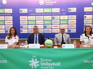 fivb snow volley world tour erciyes stage introduction meeting was held