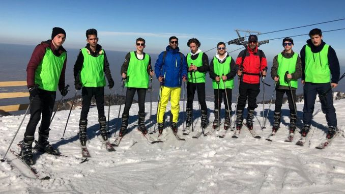 Free Ski Course Started at Kartepe Ski Center