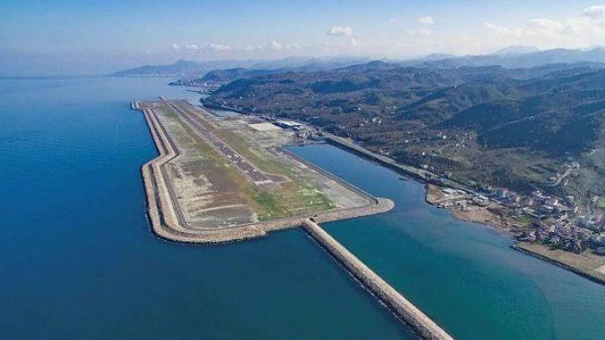 When will Rize Artvin Airport open?