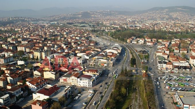 Railway site in Adapazari city was declared