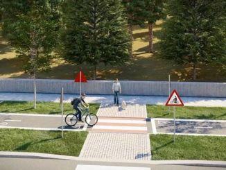 Prva pikapolonica je zadeta za projekt kolesarske ceste ankara
