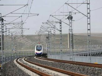 Nagsimula na ang ankara sivas high-speed train test drive