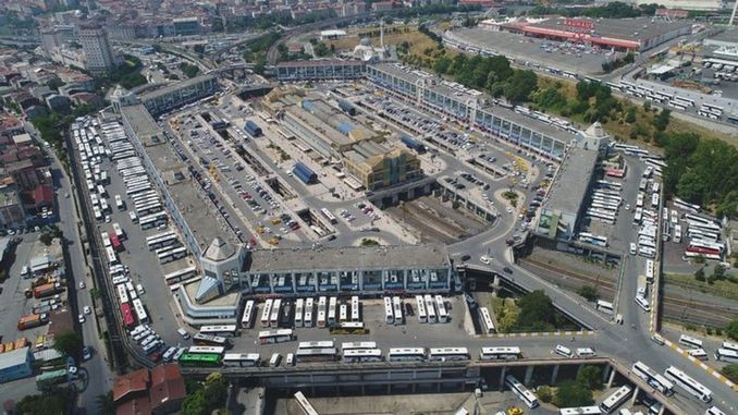 First tenant available in the big Istanbul bus station