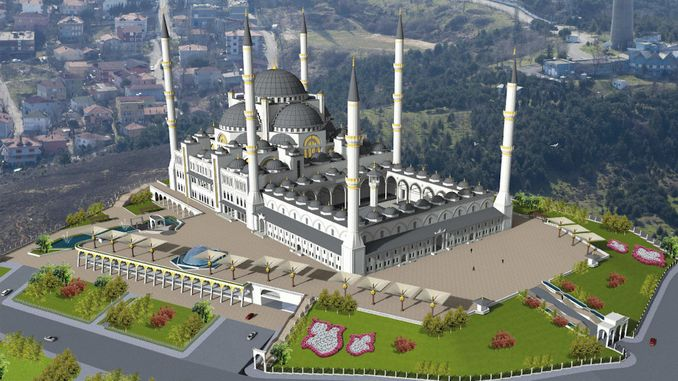 camlica mosque project