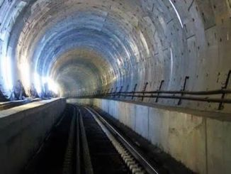 The railway tunnel was built on the eastern Anatolian fault line.