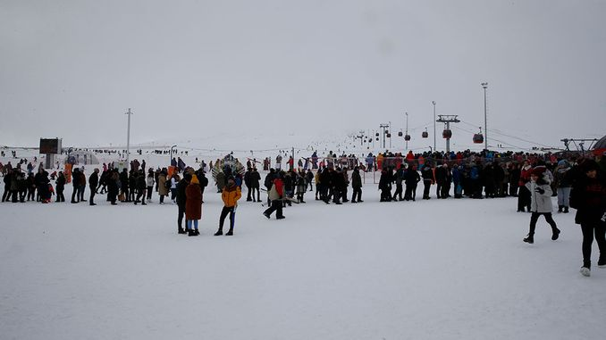 It was very intense in erciyes