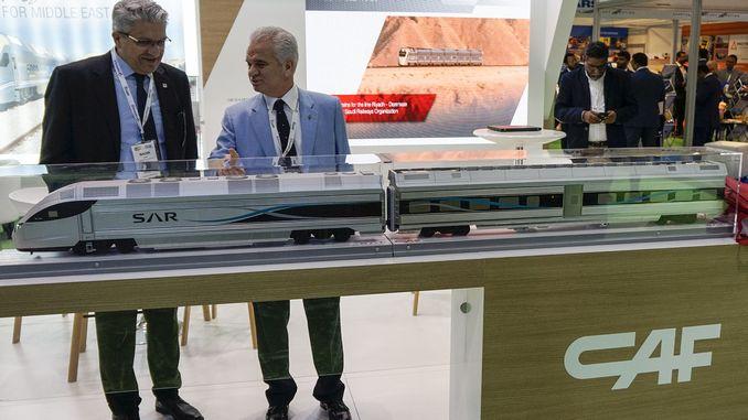 Middle East Rail, which was organized in Eskisehir, Dubai,