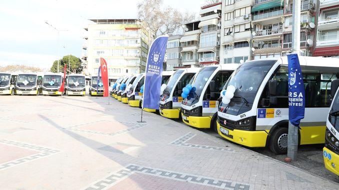 Gemlik public transportation is now more comfortable