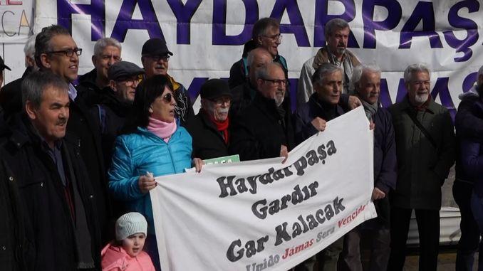 haydarpasa solidarity has been in action for weeks