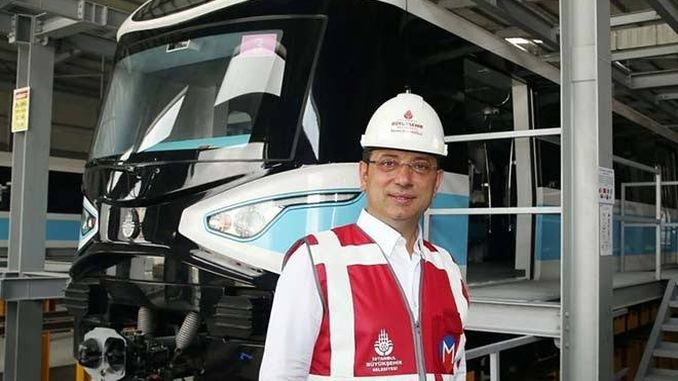 imamoglu kaynarca pendik salt for the subway construction emergency tomorrow pendik
