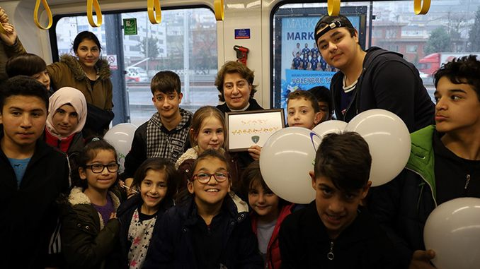 Akcaray trip for hearing impaired children