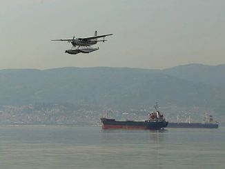 a thousand TL penalty for the ship polluting the Izmit bay