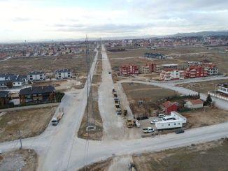 alternatiewe projekte vir paaie wat gesluit moet word weens die konstruksie van die metro in Konya, begin