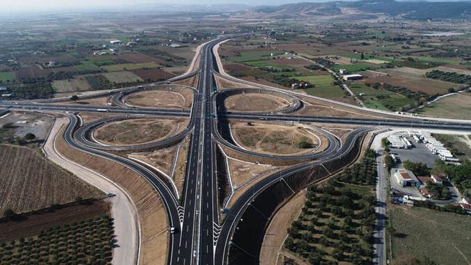 menemen aliaga will take minutes between candarli highway and candarli from izmir