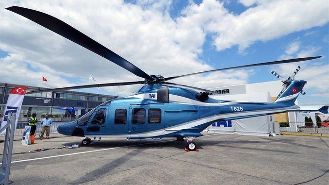 mpamatsy bizna ho an'ny helikoptera gokbey nasionaly