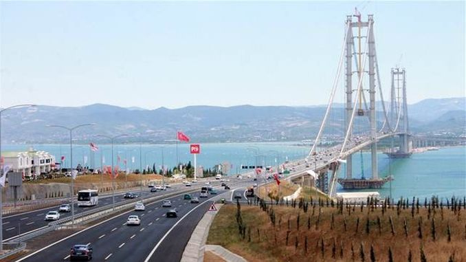 jpmorgana authority for osmangazi bridge and gebze izmir highway share sale