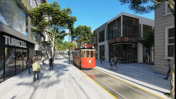 sakarya nostalgic tram project changed